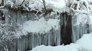 この氷瀑は2/15時点のものです