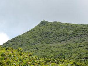 南本内岳頂上