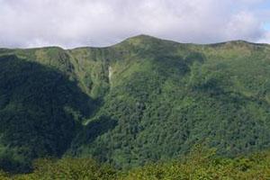 和賀岳頂上
