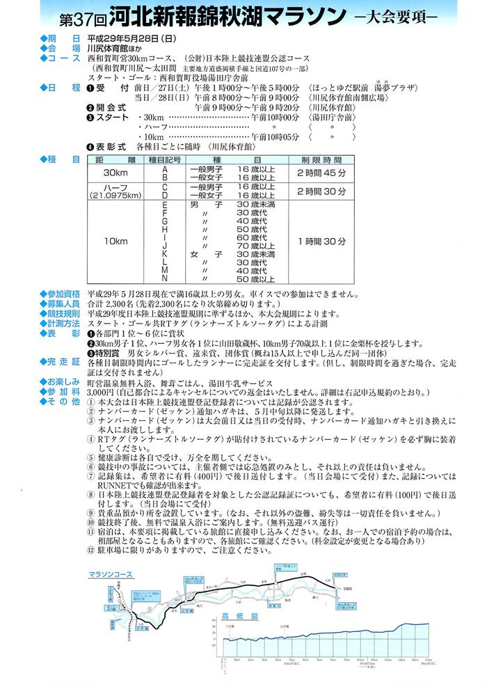 錦秋湖マラソン3